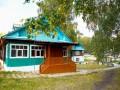 """База отдыха  """"Берёзка """" на озере Аргази."""